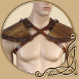 Leather Armour - Wood Elf Pauldrons